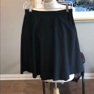 Lululemon a line skirt in black size 6